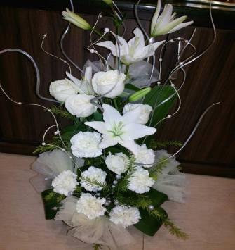 White Floral Arrangement