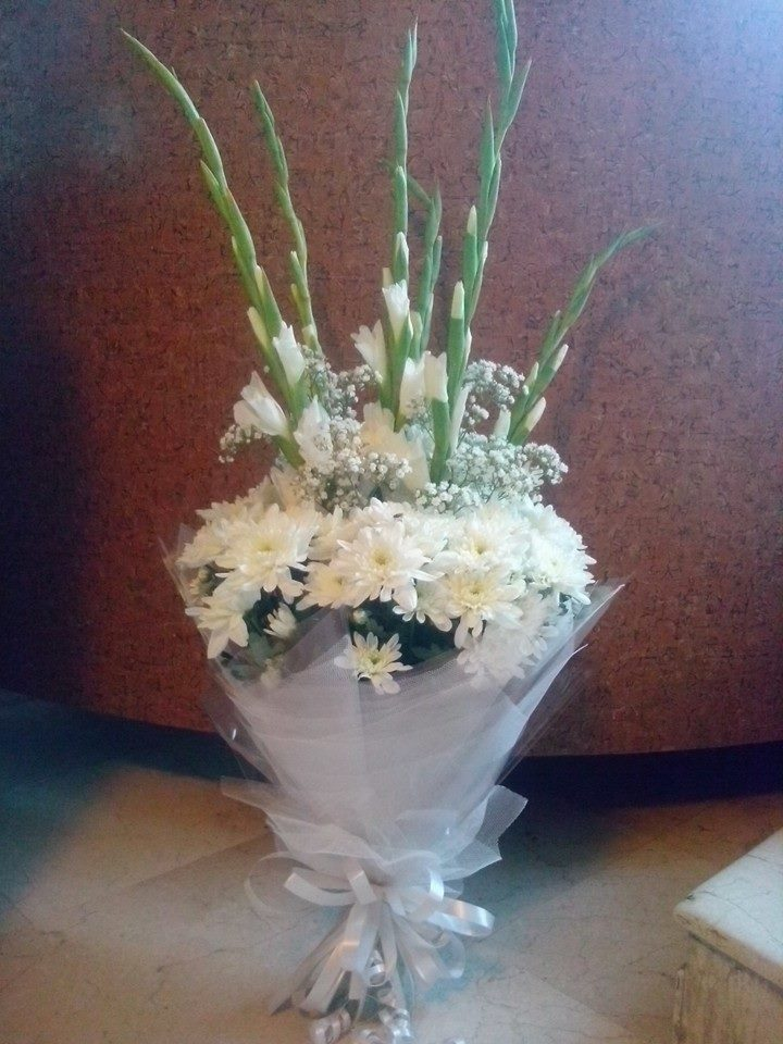 White Flowers Bunch