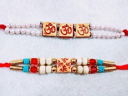 Two Om Rakhis RR5456