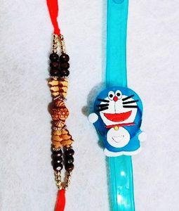 Doraemon and Stone Rakhi