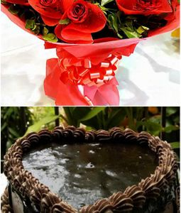 Combo - Roses and Cake