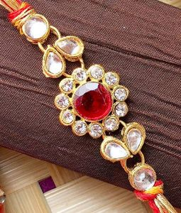 New Design Pearl Rakhi