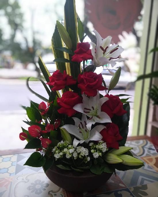 Exclusive Exotic Flower Arrangement