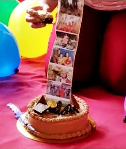 Chocolate Photo Roll Cake EXCLUSIVE