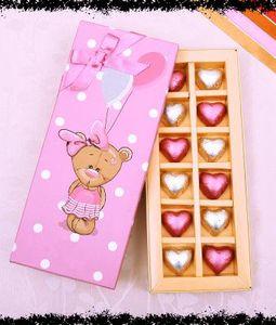 Heart Shape Chocolates 12 Pcs