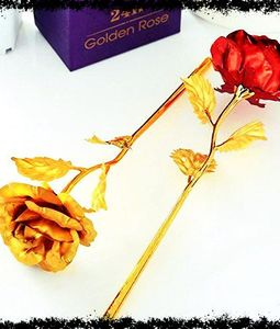 Red and Gold Roses for Valentine