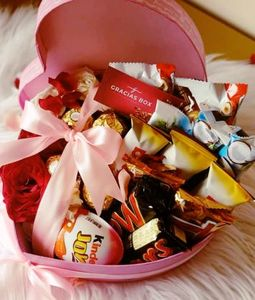 Assorted Chocolates Pack in Heart Box