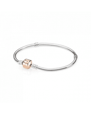 Pandora Moments Silver Bracelet With Clasp 580702