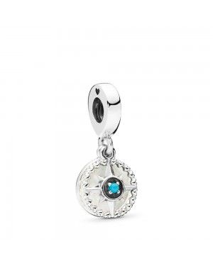 COMPASS ROSE HANGING CHARM