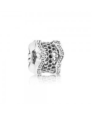Pandora Lace Of Love Spacer Charm 797653CZ