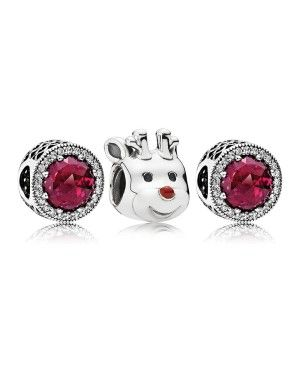 Pandora Red-Nosed Reindeer Charm Pack GS0116