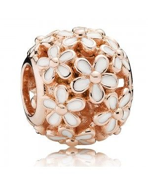 PANDORA Darling Daisy Meadow Floral Charm JSP1102 In Rose Gold
