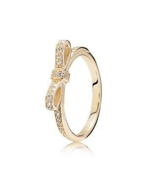 PANDORA Delicate Bow Ring JSP1465 In Gold