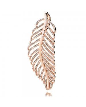 PANDORA Feather Feather Pendant JSP1215 In Rose Gold