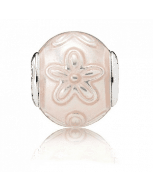 PANDORA Happiness Floral Charm JSP0562 In Sterling Silver
