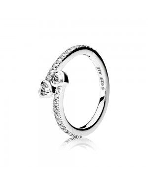 Pandora Forever Hearts Ring 191023CZ