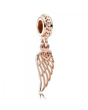PANDORA Love And Guidance Feather Charm JSP1645 In Rose Gold