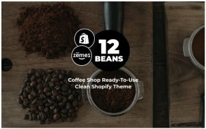 Download 12 Beans - Coffee Shop Ready-To-Use Clean Shopify Theme