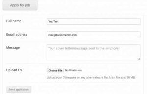 Download WP Job Manager Applications Addon
