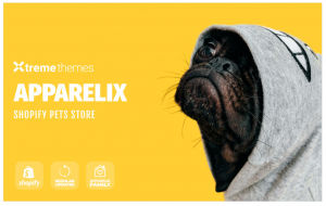Download Apparelix Pets Online Store Template Shopify Theme