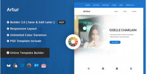 Download Artur - Responsive Email and Newsletter Template