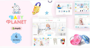 Download Baby Planet | Babies Store Shopify Theme