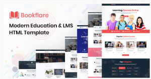 Download Bookflare - A Modern Education & LMS HTML Template