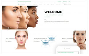 Download Contact Lenses Store - Optometrist's Clean Shopify Theme