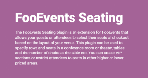 Download FooEvents Seating