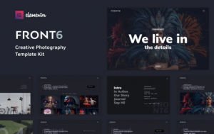 Download FrontSix - Creative Photography Template Kit