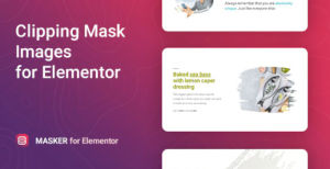 Download Image Clipping Mask for Elementor