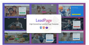 Download LeadPage - Multipurpose Marketing HTML Landing Page Template