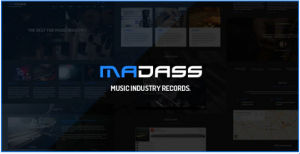 Download Madass - Music Industry HTML Template