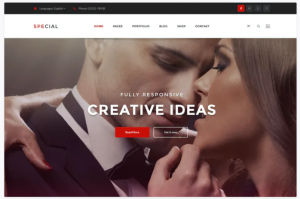 Download Onepage Business & Corporate Psd Template