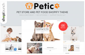 Download Petic - Pet Store and Pet Food Responsive Shopify Theme