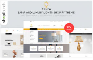 Download Polka - Lamp and Luxury Lights Responsive Shopify Theme