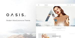 Download Oasis Modern WooCommerce Theme