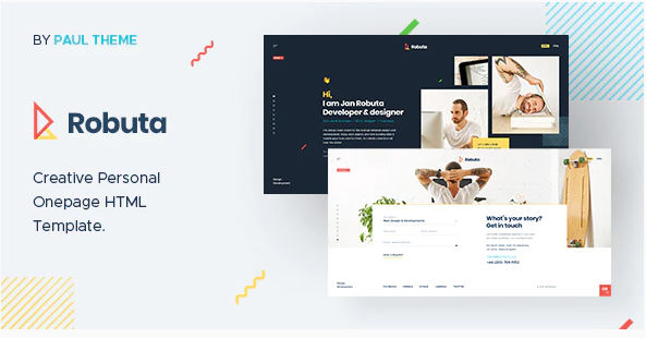 Download Robuta - Personal Onepage HTML Template