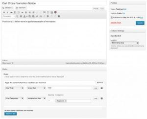 Download WooCommerce Conditional Content