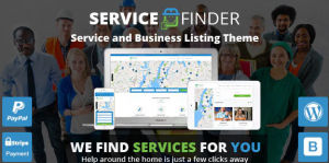 Download Service Finder Provider and Business Listing WordPress Theme