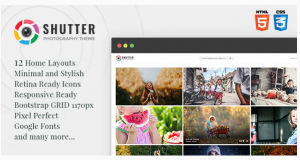 Download Shutter - Photography HTML5 Template
