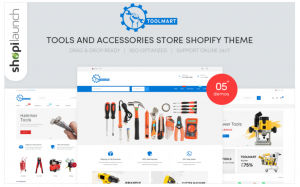 Download ToolMart - Tools & Accessories Store Responsive Shopify Theme