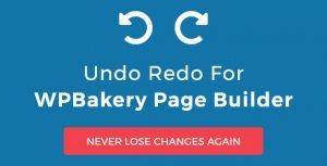 Download Undo Redo for WPBakery Page Builder