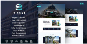 Download Windsor   Apartment Complex / Single Property Site Template