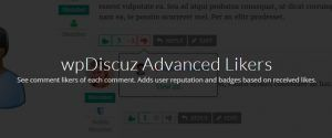 Download WpDiscuz – Advanced Likers