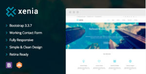 Download Xenia - Refined HTML 5 / CSS 3 Corporate Template