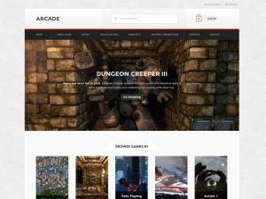 Download Arcade Storefront Theme for WooCommerce