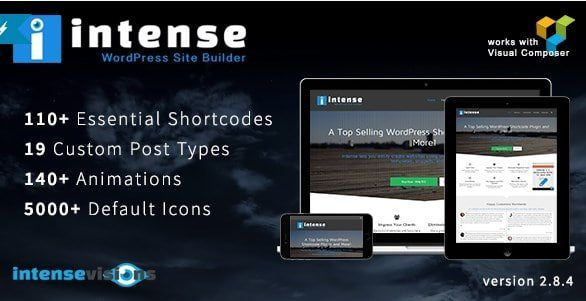 Download Intense - Shortcodes and Site Builder for WordPress