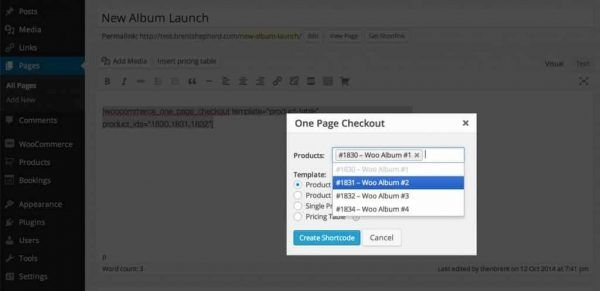 Download WooCommerce One Page Checkout