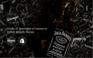 Download Beverages - Drinks & Beverages eCommerce Stylish Shopify Theme